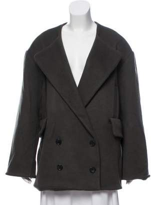 Creatures of Comfort Wool-Blend Double-Breasted Coat