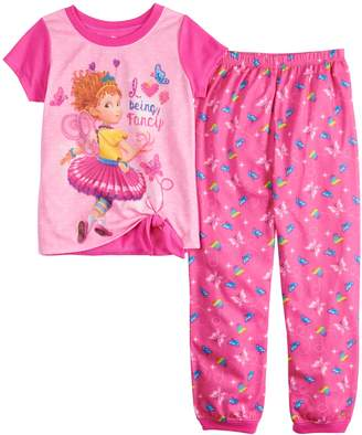 Disney Disney's Fancy Nancy Girls 4-10 Top & Bottoms Pajama Set