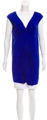 Alexander McQueen Silk-Blend Sleeveless Tunic