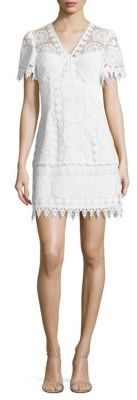 Nanette Lepore Dandelion Crochet Lace Dress $448 thestylecure.com
