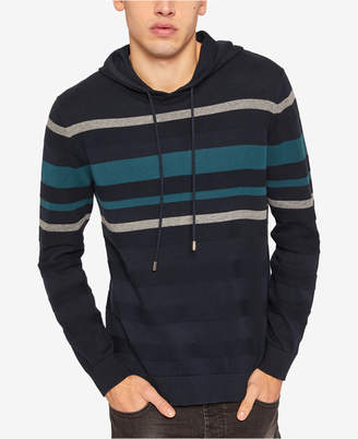 Armani Exchange Men Striped Hoodie