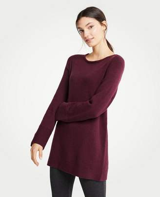 Ann Taylor Petite Boatneck Tunic Sweater