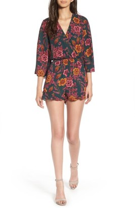 Women's Everly Floral Print Romper $49 thestylecure.com