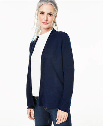 Charter Club Open-Front Cashmere Cardigan, Created for Macy's