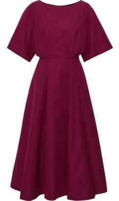 Derek Lam Cutout Cotton-poplin Midi Dress