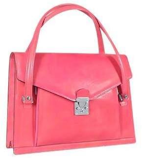 L.a.p.a. Double Gusset Women's Leather Briefcase