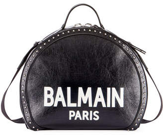 Balmain Drum Brilliant Coin Top Handle Bag