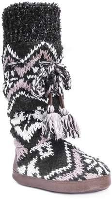 Muk Luks Angie Printed Knit Slipper