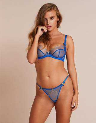 Agent Provocateur Lorna Thong Blue and Yellow