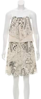 Madison Marcus Sleeveless Printed Dress