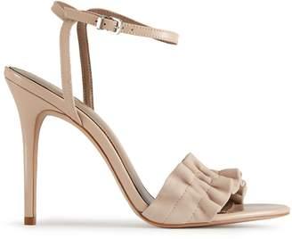 Reiss Rafaella Ruffle Detail Sandal