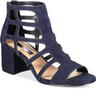 INC International Concepts I.n.c. Women's Hartley Caged Dress Sandals, Created for Macy's Women's Shoes