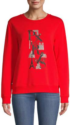 Karl Lagerfeld Paris Paris Sweatshirt