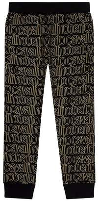 Roberto Cavalli Logo Print Sweatpants