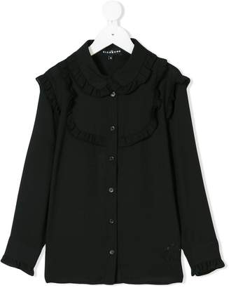 John Richmond Kids ruffled shirt