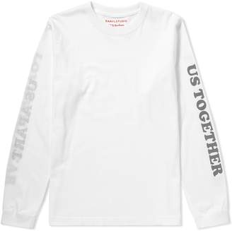 Darylstudio Long Sleeve Love Will Tear Us Reversible Printed Tee - END. Exclusive