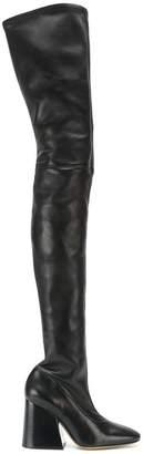 Maison Margiela over the knee boots