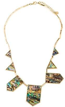 House Of Harlow Abalone Collar Necklace