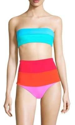 Mara Hoffman Abigail Strapless Bikini Top