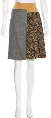 Sophie Theallet Silk Printed Skirt