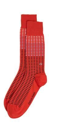 Calvin Klein Underwear Allover Tiles Crew Socks