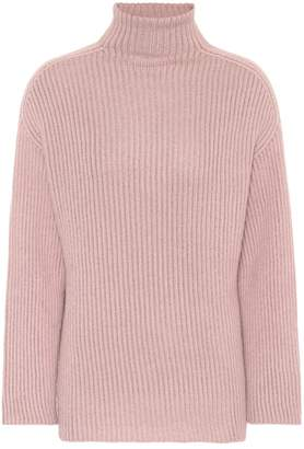 Agnona Cashmere-blend turtleneck sweater
