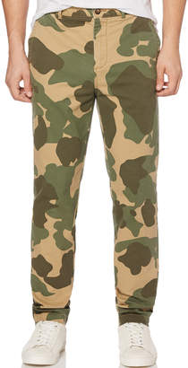 Original Penguin TAPER FIT CAMO TROUSER