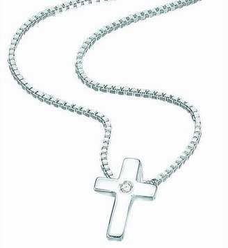 Silver Cross D for Diamond D For Diamond Baby Pendant P800
