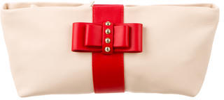 Christian Louboutin  Christian Louboutin Charity Bow Clutch