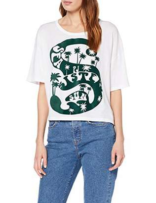 Paul & Joe Sister Women's 9LUC T-Shirt, (Blanc/White 01), X-Large