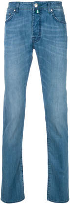 Jacob Cohen straight roll up jeans