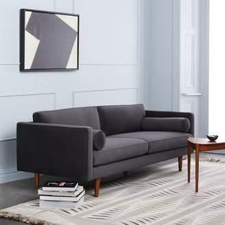 West Elm Monroe Mid Century Sofa 80