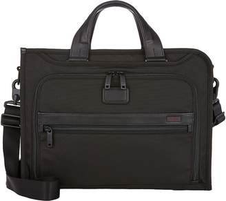 Tumi Men's Alpha II Slim Deluxe Briefcase