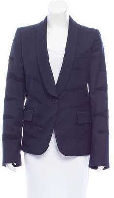 Maison Margiela Patterned Wool Blazer