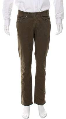 Trussardi Flat Front Cropped Pants