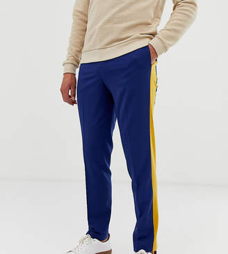 Noak slim fit pants in cut and sew
