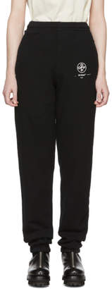 Off-White Black Diag Stencil Lounge Pants