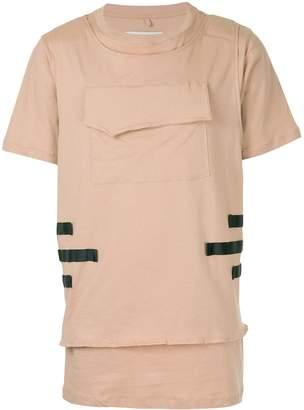 Matthew Miller layered hem T-shirt