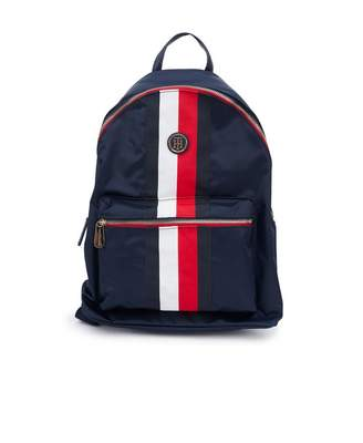 Tommy Hilfiger Accessories Poppy Logo Nylon Backpack Colour  NAVY 277fafb824e