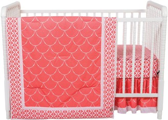 Trend Lab Shell 3-pc. Crib Bedding Set