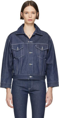Levi's Levis SSENSE Exclusive Indigo Denim Jacket