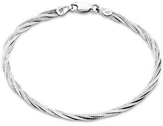 Amor Women's Bracelet 925 Sterling Silver Rhodium-Plated 19 cm – 2016486