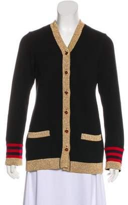 Chanel Cashmere Metallic Cardigan