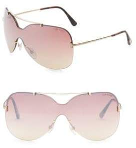 Tom Ford Ondria Shield Sunglasses