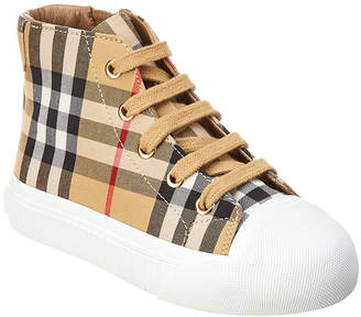 Burberry Checked Trainer