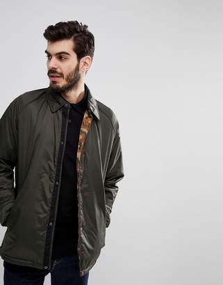 Barbour Eel Quilted Jacket in Sage