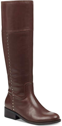 Marc Fisher Galaya Wide Calf Studded Boots Women's Shoes