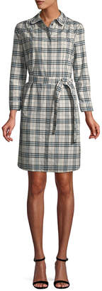 Burberry Plaid Shirtdress