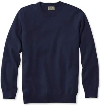 L.L. Bean L.L.Bean Cotton/Cashmere Sweater, Crewneck