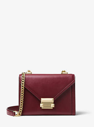 Michael Kors Whitney Small Leather Convertible Shoulder Bag